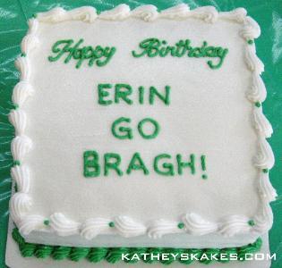 Irish Birthday Cake