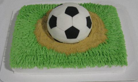 soccer ball cake. Unlimited: Sports Cakes